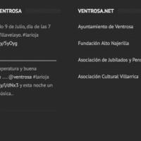 Ventrosa.net 2.0 Nueva web