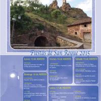 San Roque 2015, del 13 al 17 de agosto