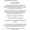 Aportaciones para Fiestas de San Roque 2016