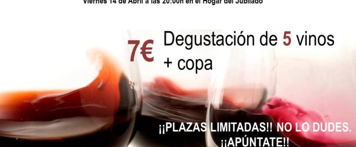 III Cata de vinos Villa de Ventrosa, Viernes 14 de Abril 2017