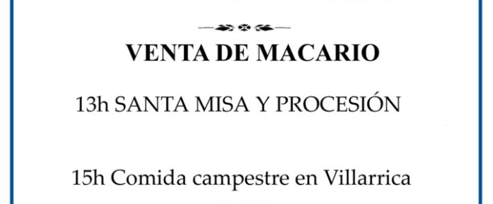 Romería de Villarrica el día 1 de Julio 2017