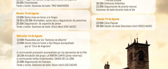 Fiestas de San Roque 2017 !! en Ventrosa
