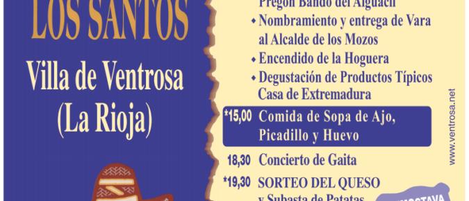 Fiesta de Todos los Santos 2018. Ventrosa