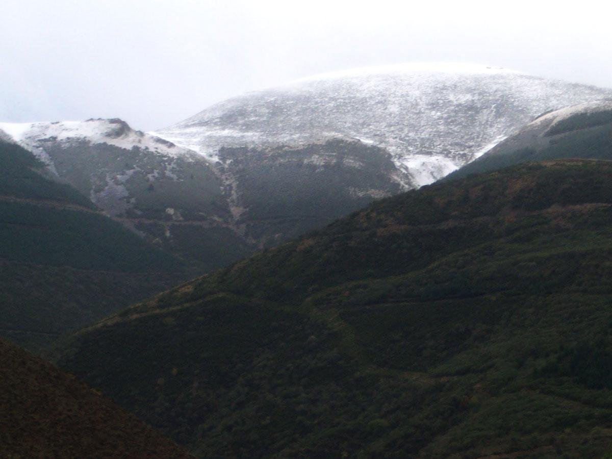 Priemeras nieves La Rioja - Ventrosa 2011