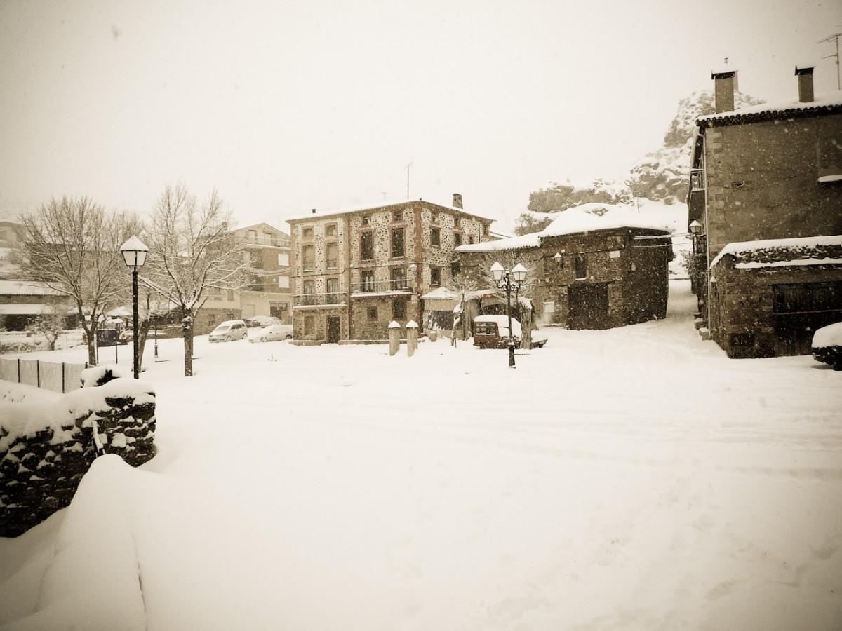 Ventrosa nevadas febrero 2012