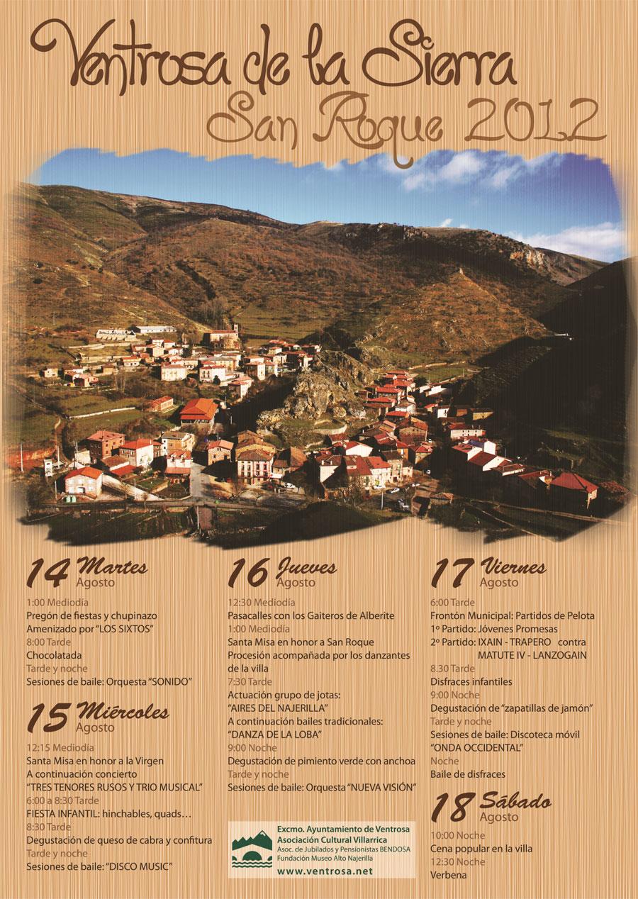 Fiestas de San Roque 2012 Ventrosa La Rioja