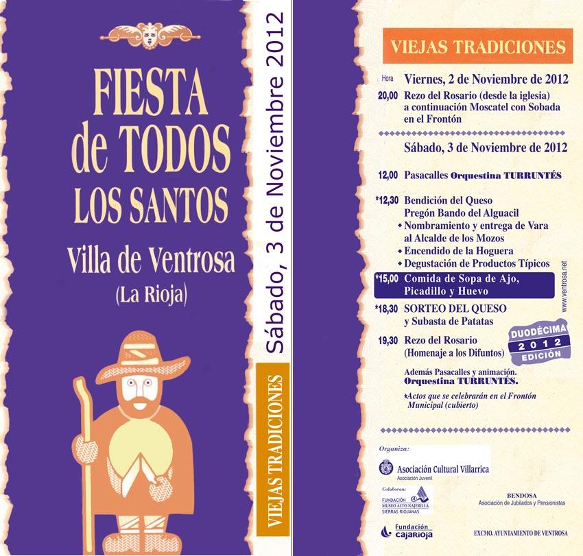 Los santos 2012
